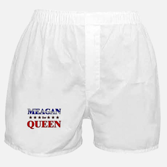 MEAGAN for queen Boxer Shorts