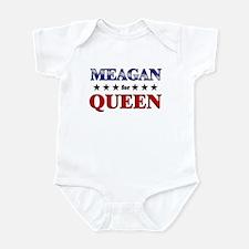 MEAGAN for queen Infant Bodysuit