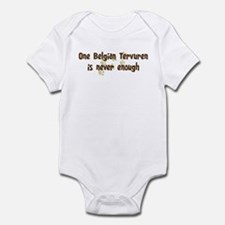 Never enough: Belgian Tervure Infant Bodysuit