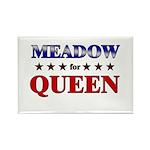 MEADOW for queen Rectangle Magnet