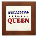 MEADOW for queen Framed Tile