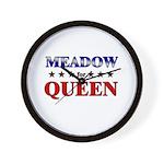 MEADOW for queen Wall Clock