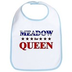 MEADOW for queen Bib