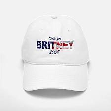 Vote for Britney Baseball Baseball Cap