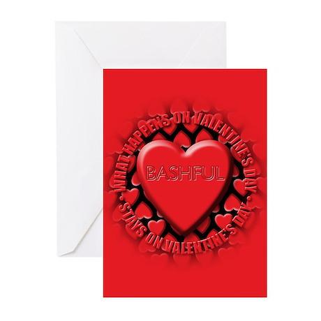 bashful Greeting Cards (Pk of 10)