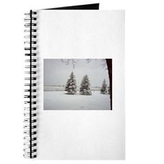 Snow on Trees Journal