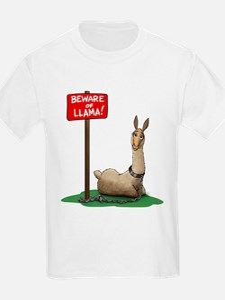 Beware of Llama T-Shirt