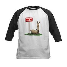 Beware of Llama Baseball Jersey