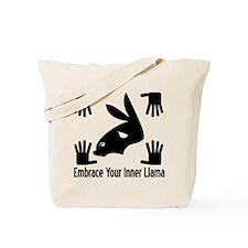 Embrace Llamas Tote Bag