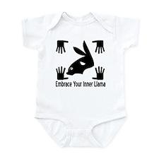 Embrace Llamas Infant Bodysuit