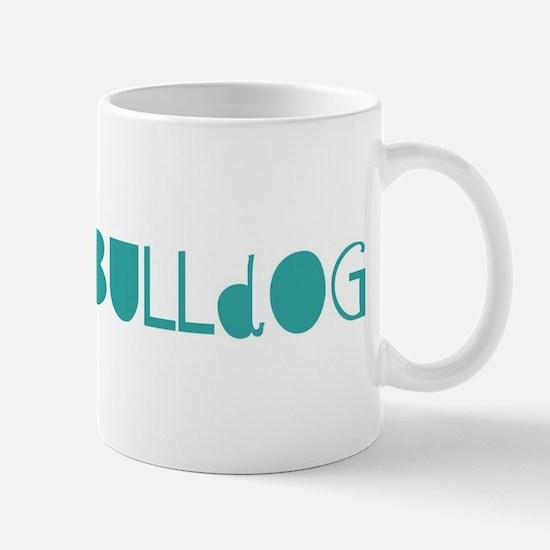 French Bulldog (fun blue) Mug