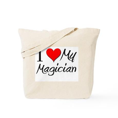 I Heart My Magician Tote Bag