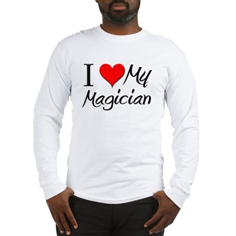 I Heart My Magician Long Sleeve T-Shirt
