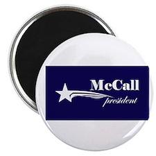 James H. McCall president Magnet