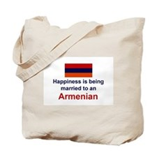 Happily Married To Armenian Tote Bag
