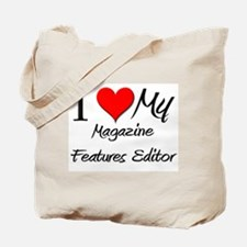 I Heart My Magazine Features Editor Tote Bag