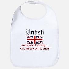 Good Looking British Bib
