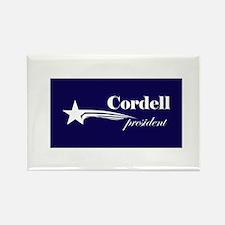 Don Cordell president Rectangle Magnet