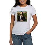 Boston terrier mona lisa Women's T-Shirt
