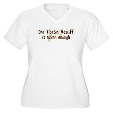 Never enough: Tibetan Mastiff T-Shirt