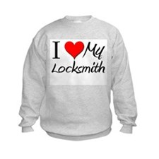 I Heart My Locksmith Sweatshirt