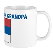 I LOVE MY SERBIAN GRANDPA Small Mugs