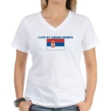 I LOVE MY SERBIAN GRANDPA Shirt