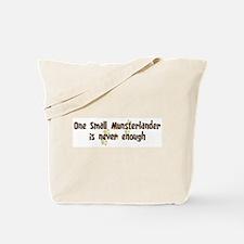 Never enough: Small Munsterla Tote Bag