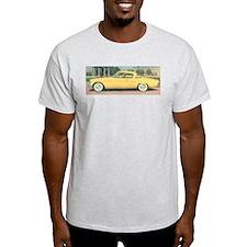 Yellow Studebaker on Ash Grey T-Shirt