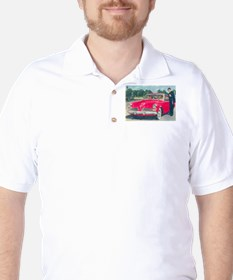 Red Studebaker on T-Shirt