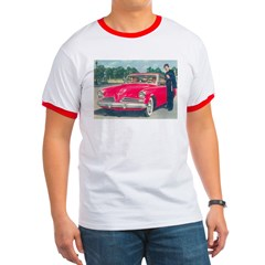 Red Studebaker on T