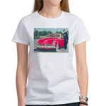 Red Studebaker on Women's T-Shirt