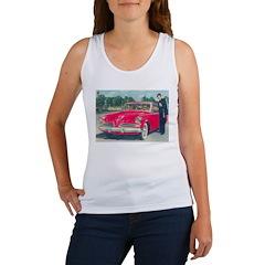 Red Studebaker on Women's Tank Top