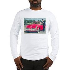 Red Studebaker on Long Sleeve T-Shirt