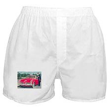 Red Studebaker on Boxer Shorts