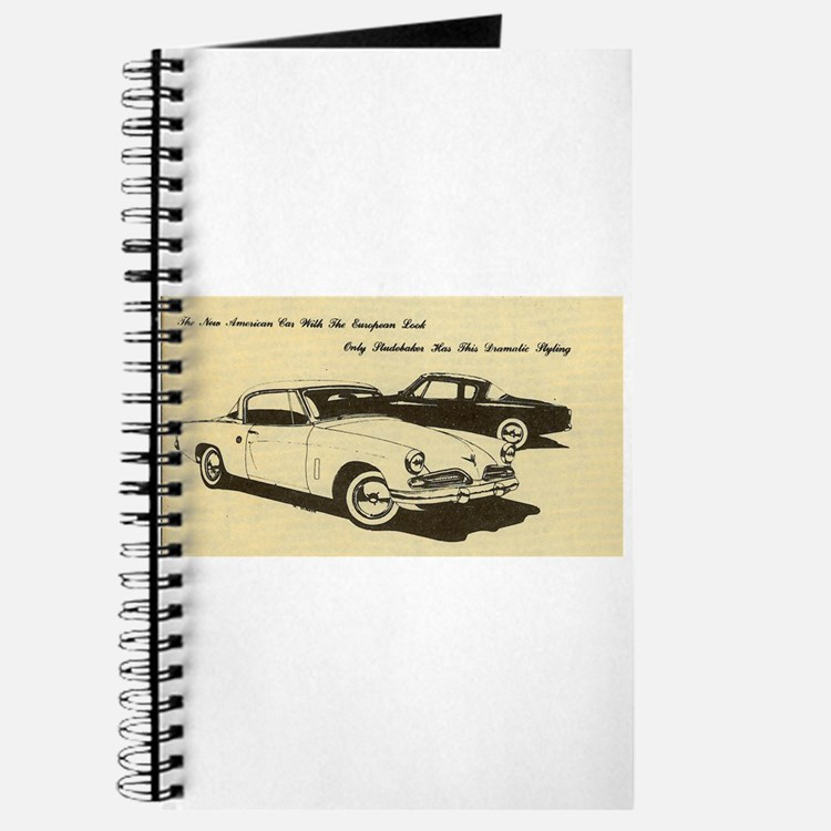 Two '53 Studebakers on Journal