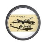 Two '53 Studebakers on Wall Clock