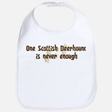 Never enough: Scottish Deerho Bib
