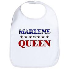 MARLENE for queen Bib