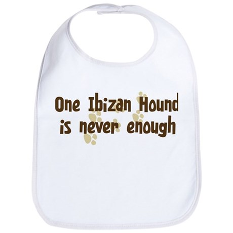Never enough: Ibizan Hound Bib