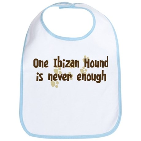Never enough: Ibizan Hound Bib