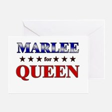 MARLEE for queen Greeting Card