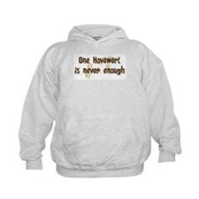 Never enough: Hovawart Hoodie