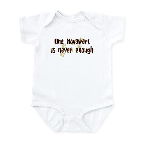 Never enough: Hovawart Infant Bodysuit
