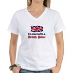Married To British Prince Women's V-Neck T-Shirt