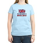 Married To British Prince Women's Light T-Shirt