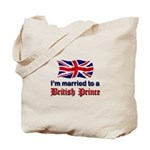 Married To British Prince Tote Bag