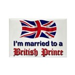 Married To British Prince Rectangle Magnet