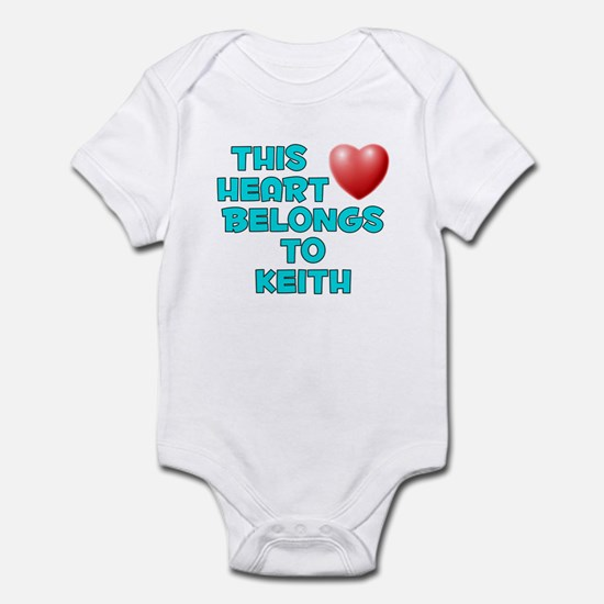 This Heart: Keith (E) Infant Bodysuit