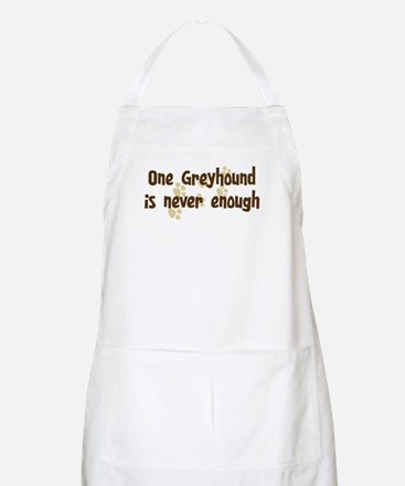 Never enough: Greyhound BBQ Apron